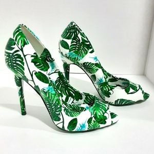 NEW Aldo Tropical Design Stiletto Shoes US…